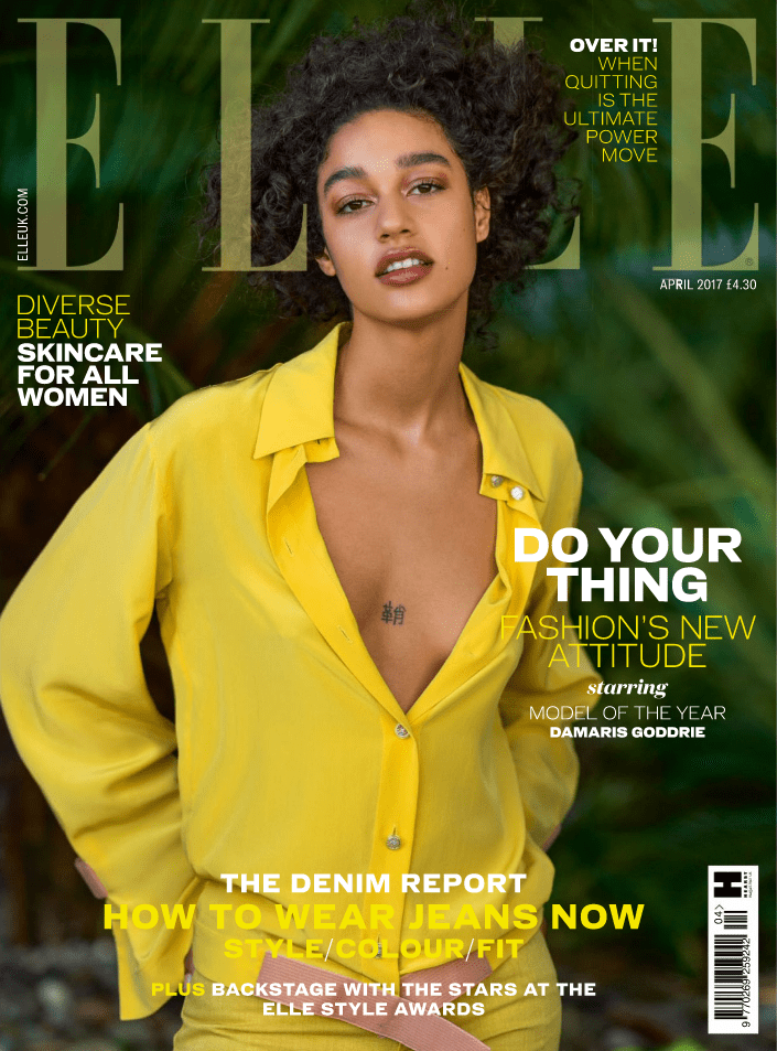 MYTHYN.com · ELLE Magazine UK April 2017