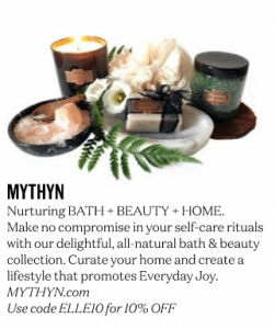 MYTHYN.com · ELLE Magazine April 2017