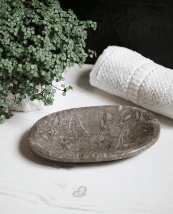 Fossilised Oceanic Stone Dish - MYTHYN