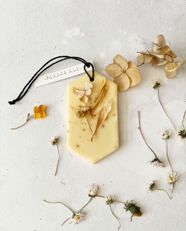 MYTHYN - Botanical Scented Wax Tablet - Lemongrass Cedarwood
