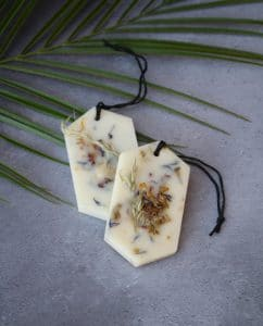 Botanical Scented Wax Tablets - Lemongras and Cedarwood · MYTHYN