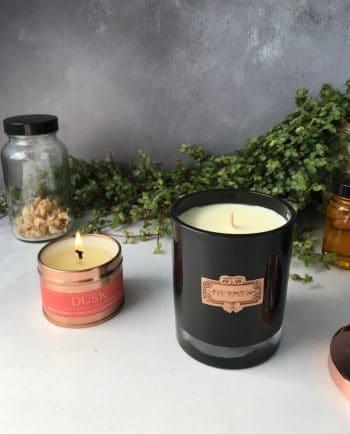 Dusk Natural Sustainable Candle · MYTHYN