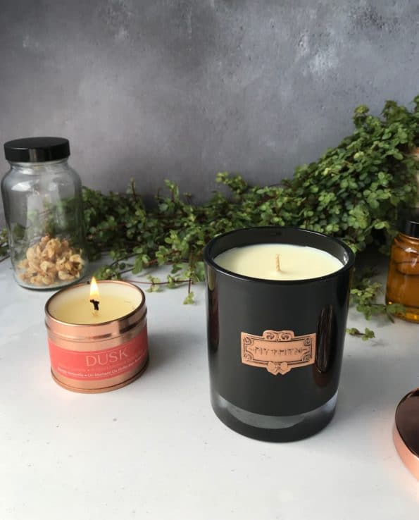 Dusk Natural Sustainable Candle · MYTHYN