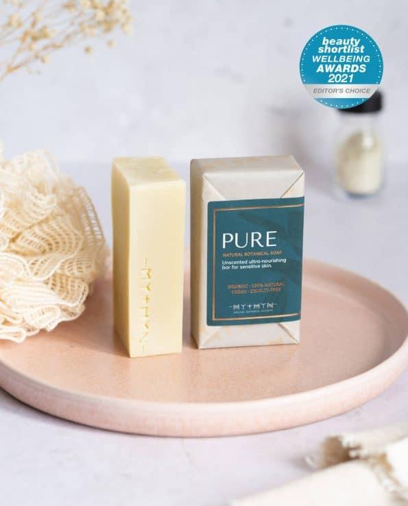 Mythyn Botanical Soap Bar - Pure
