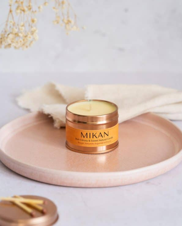 Mythyn Natural Sustainable Candles - Mikan